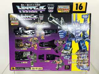 Transformers Encore 16 G1 Bruticus Giftset (Reserved)