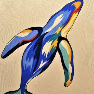 Breaching Whale (80cm x 100cm)