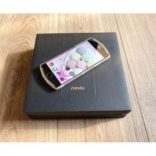 🚚 Meitu 美圖 T8(MP1602)4GB+128GB 玫瑰金 自拍美顏 公司貨 盒裝配件 完整 粉色