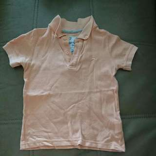 Gingersnaps Boy Collar Polo Tee size 2