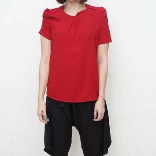 ZARA Woman - Red Blouse - Size XS