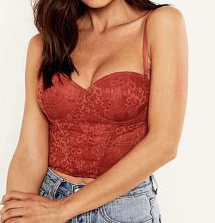 Lace buster top
