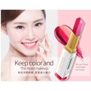 Bioaqua Two Tone Lipstick Stereo Color Lip Bar