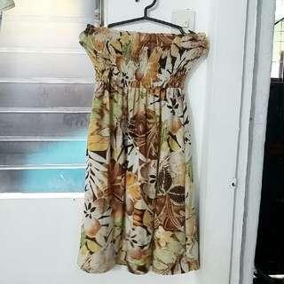 Innocent Floral Tube Dress