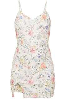 Plt floral mini dress