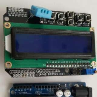 Arduino LCD and Keypad Shield