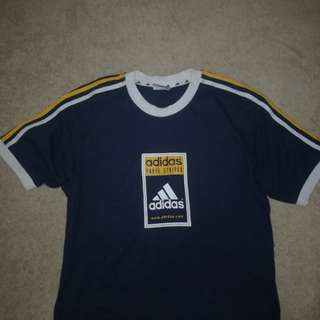 AUTHENTIC ADDIDAS 3 STRIPES CROP TOP