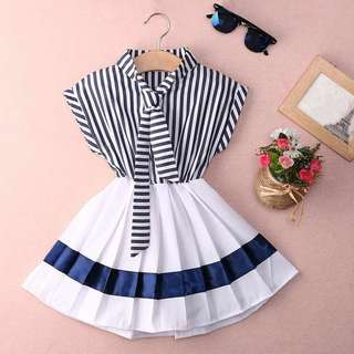 Dress anak .. dress sailor