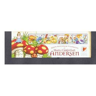 2005 - 10   Hans Christian Andersen Miniature Sheet