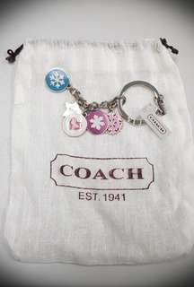 Coach charms /bag charms/  key chains / ornaments