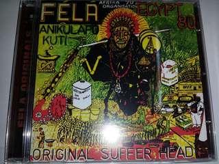 Music CD: Fẹlá Anikulapo Kuti*,Egypt 80/Fela Anikulapo Kuti,Africa 70–Original Suffer Head / I.T.T.
