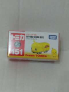 Tomica Tomy #151 日清 雞仔車 Hiyoko Chan Bus (購自横濱杯麵博物館)