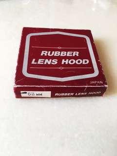 Lens hood 52mm vintage rubber original box Made in Japan