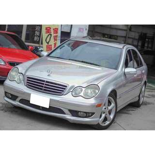 05 Benz C230k  機械增壓 1.8L 超貸車款