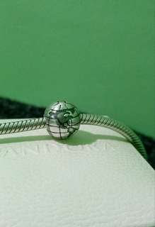 Authentic Pandora Globe Clip