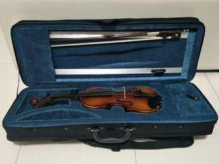 Violin 1/8 for kids, Eurostring brand