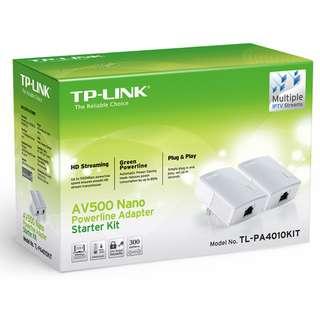 TP-Link TL-PA4010 AV600 Powerline Starter Kit