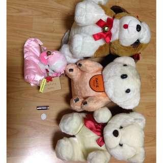Repriced! Bundle Stuffed Toys