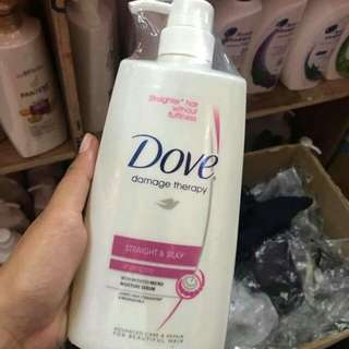 Dove Straight and Silky Shampoo
