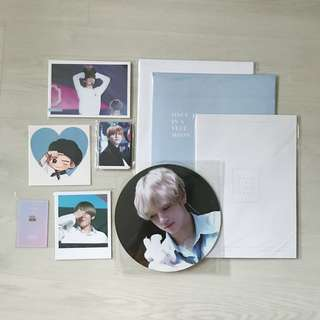 BTS V Taehyung Fansite Goods VIA Once In A Vlue Moon