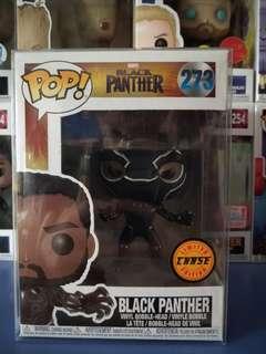 Chase Funko Pop Black Panther masked