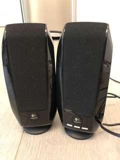 Logitech USB 電腦喇叭