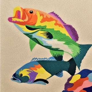 Fishes Painting (70cm x 90cm)