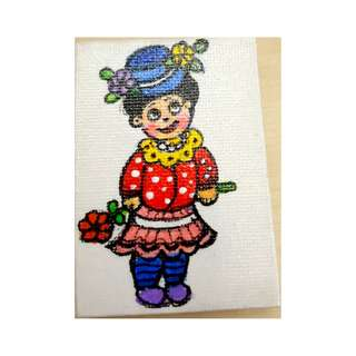 Hand painted fridge magnet