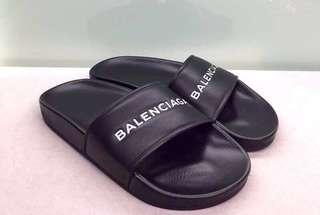Balenciaga 黑色拖鞋 Size:35,39 Real and New