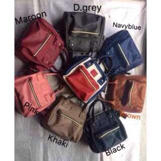 anello 3way bag leather small