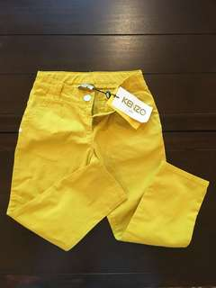 ORIGINAL Kenzo Kids Yellow Pants