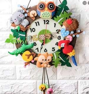 DIY art n craft clock