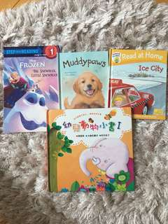 Frozen, muddy paws, Oxford reading tree~ ice city and 幼兒動物小書1