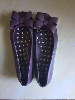 Flatshoes rubber #kanopixcarousell