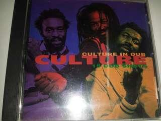 Music CD: Culture–Culture In Dub - 15 Dub Shots