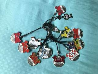 FIFA World Cup Keychain Collection