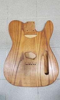 Fender Telecaster 木紋 body
