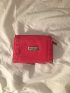 Bluebird Pink Small Wallet