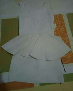 Terusan/mini dress cream