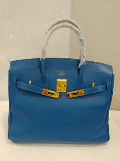 Hermes birkin 30 france blue