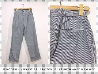 Woodbill Pinstriped Pants