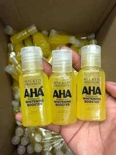 AHA whitening booster AHA soap