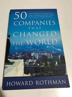 50 Companies That Changed The World