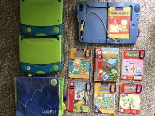 Leap Frog Leap Pad System LOT