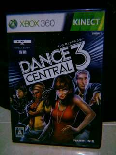 Xbox-360 Dance Central 3 (kinect)