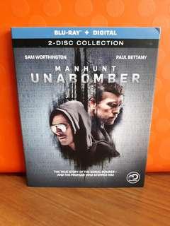 USA Blu Ray Slipcase - Manhunt Unabomber