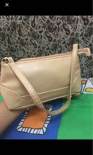Hand bag genuine leather