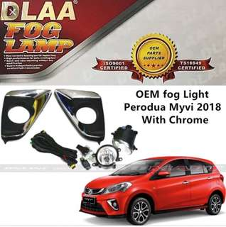MYVI 2018 FOG LIGHT