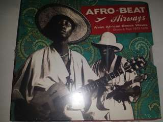 Music CD (Sealed): Various ‎– Afro-Beat Airways - West African Shock Waves - Ghana & Togo 1972-1978