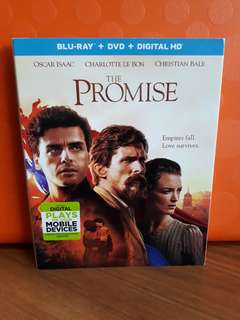 USA Blu Ray Slipcase - The Promise